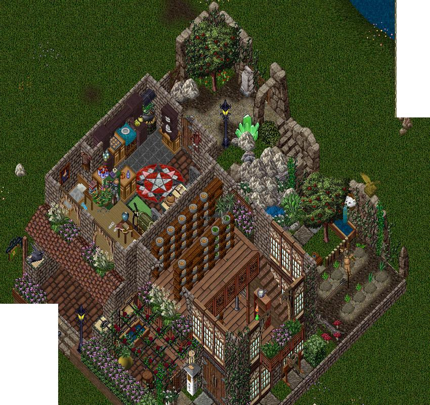 Seriad's Ultima Online © Home Building and Deco
