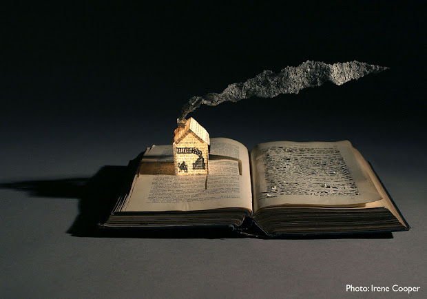 Su Blackwell Book Sculpture