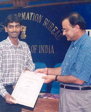 Bhartendu Puraskar, Ministry of Information and Broadcasting, Government of India