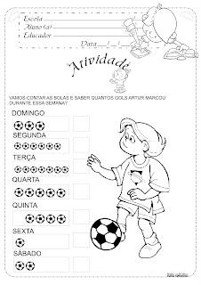Atividade Copa do Mundo Educação Infantil