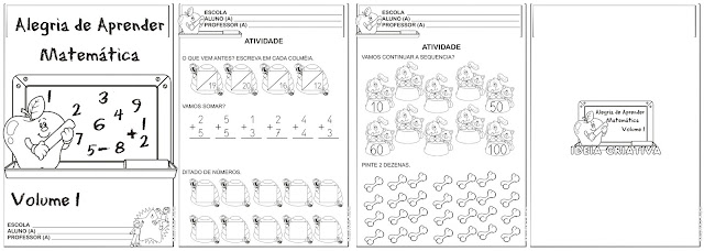 Caderno Alegria de Aprender Matemática