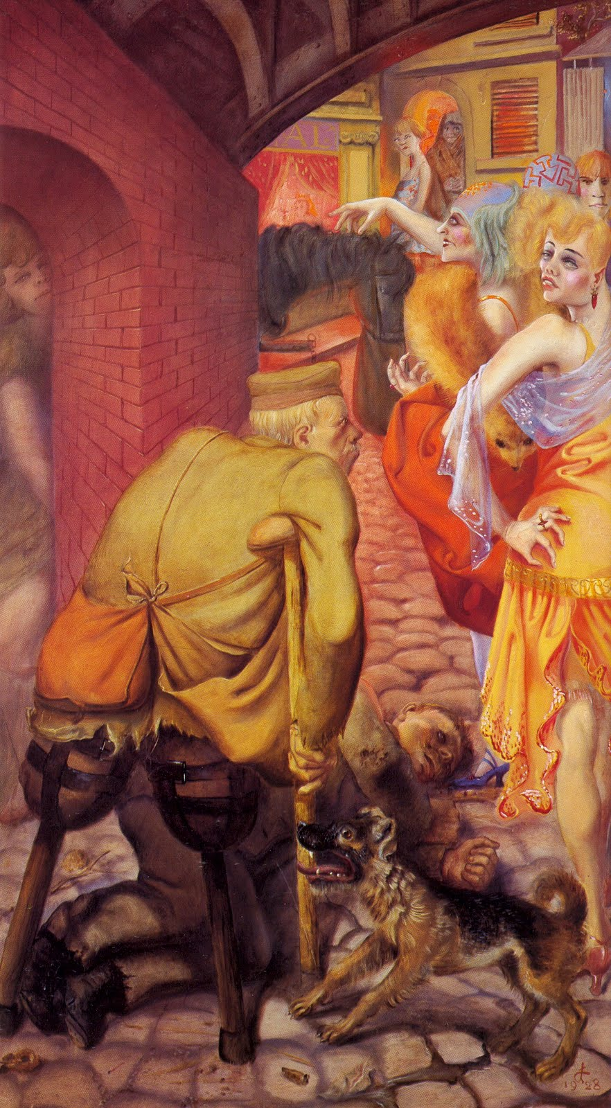 Otto Dix War Otto Dix Paintings, Ar...