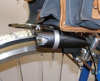 Now The Light Can Be Mounted On Your Rack And It Sits In An Ideal Position Below Handlebar Bag
