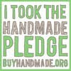 Hand made pledge