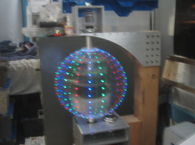 Electronic Project : Persistance-of-vision LED Sphere