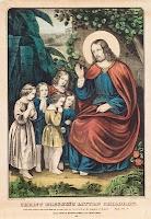 jesus lithograph print