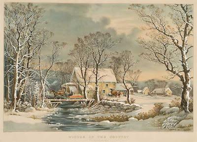 george henry durrie winter scene