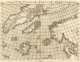 Antique Prints Blog The Zeno Map mythical islands of the North