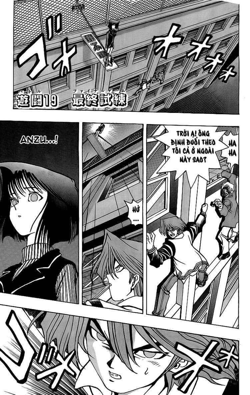 YUGI-OH! chap 19 - trò chơi cuối cùng trang 1