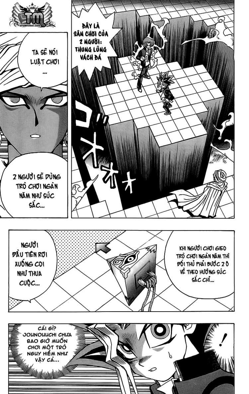 YUGI-OH! chap 19 - trò chơi cuối cùng trang 7