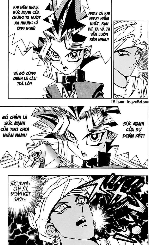 YUGI-OH! chap 20 - trò chơi kết thúc trang 15