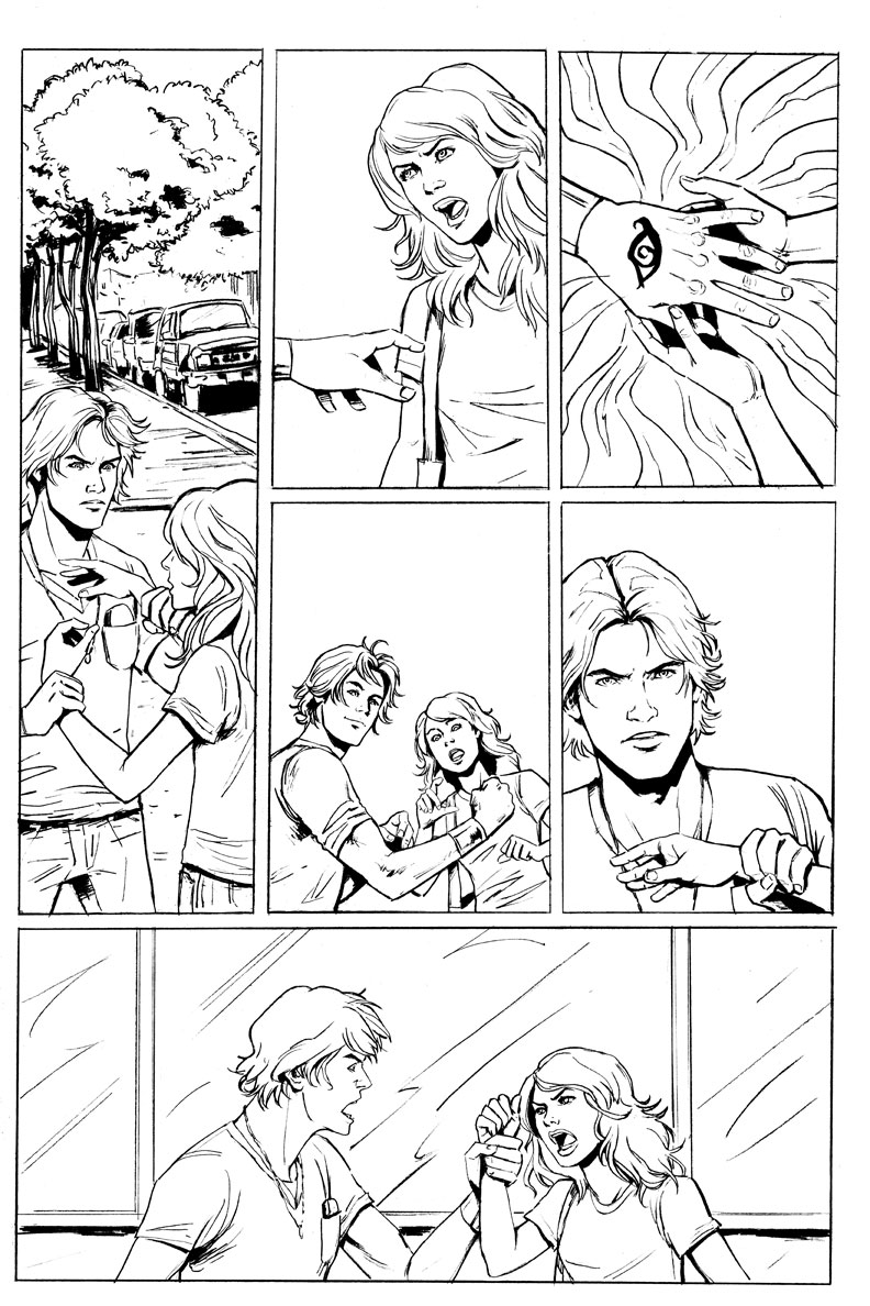 Mundie Moms: New Artwork from the City of Bones Graphic Novel