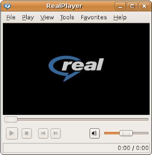 no me aparece el icono de realplayer para