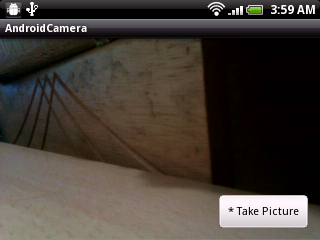 Capture image without surface view as background service in