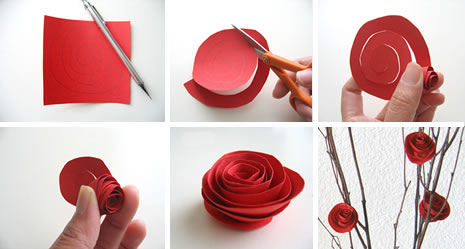 Diy make paper flowers very simple is very easy originally created by martha stewart thanks wendy head on over there and start making flowers to your hearts content mightylinksfo