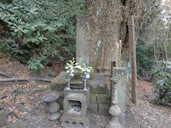 讃岐局の墓