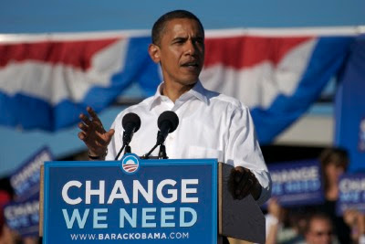 Barack Obama at the Colorado Fairgrounds in Pueblo by Joe Beine
