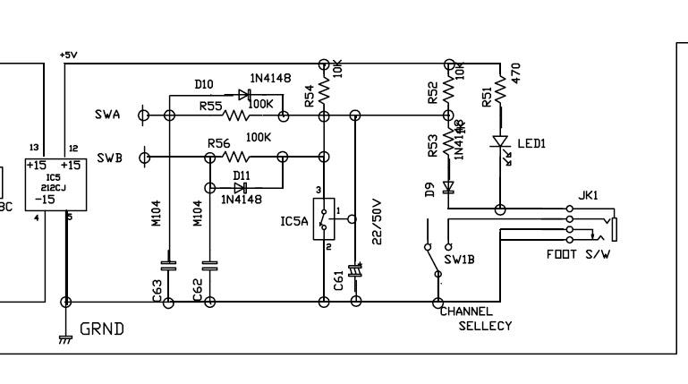 marshall mg30fx schematic diagram