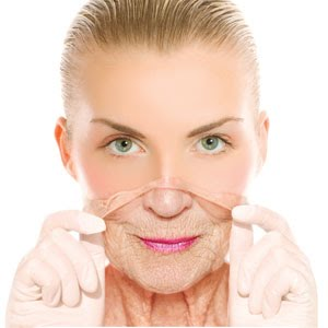 a woman with anti-aging benefits