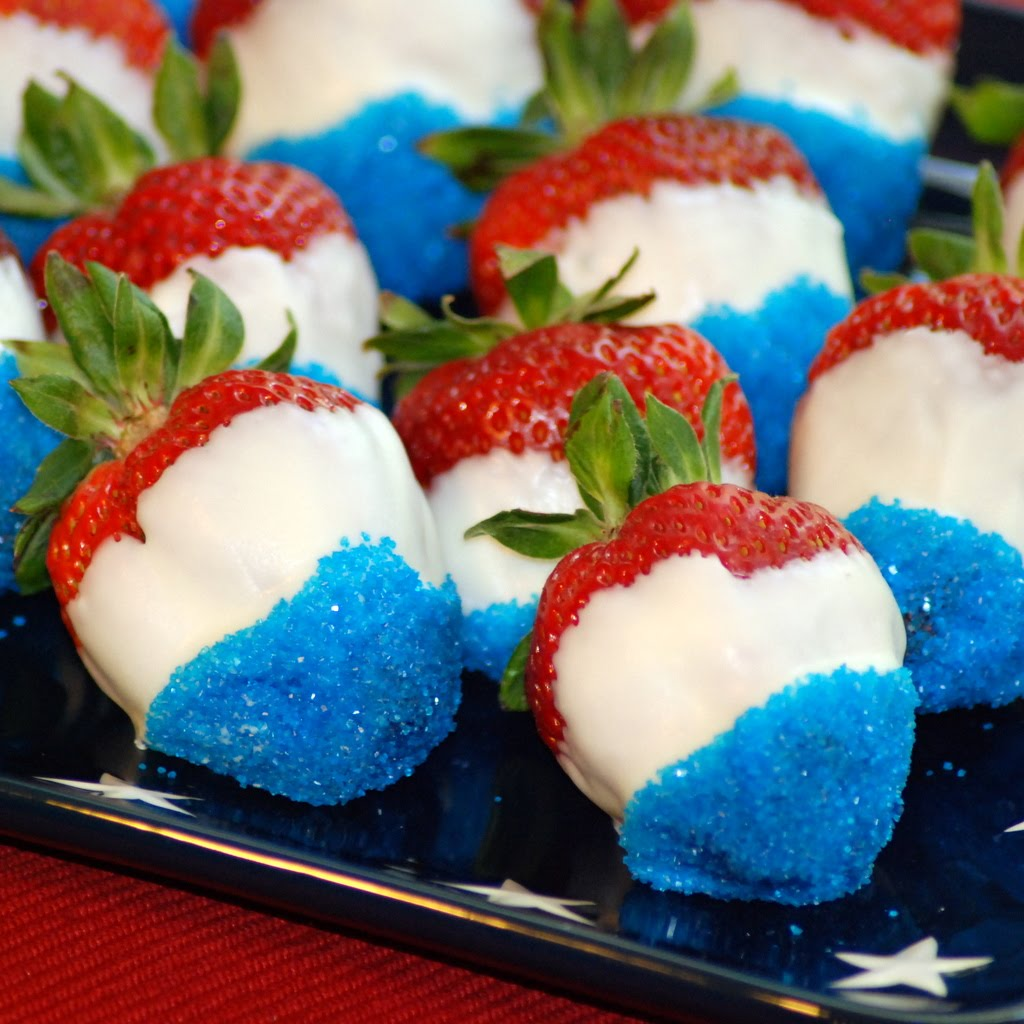 Scrambled Henfruit Red White And Blue Berries