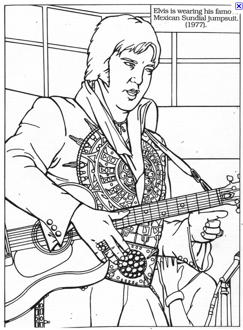 Rock and roll coloring pages free ~ Dartman's World Of Wonder: August 2010