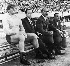 Antonio Roma y Alfredo Di Stéfano en Boca