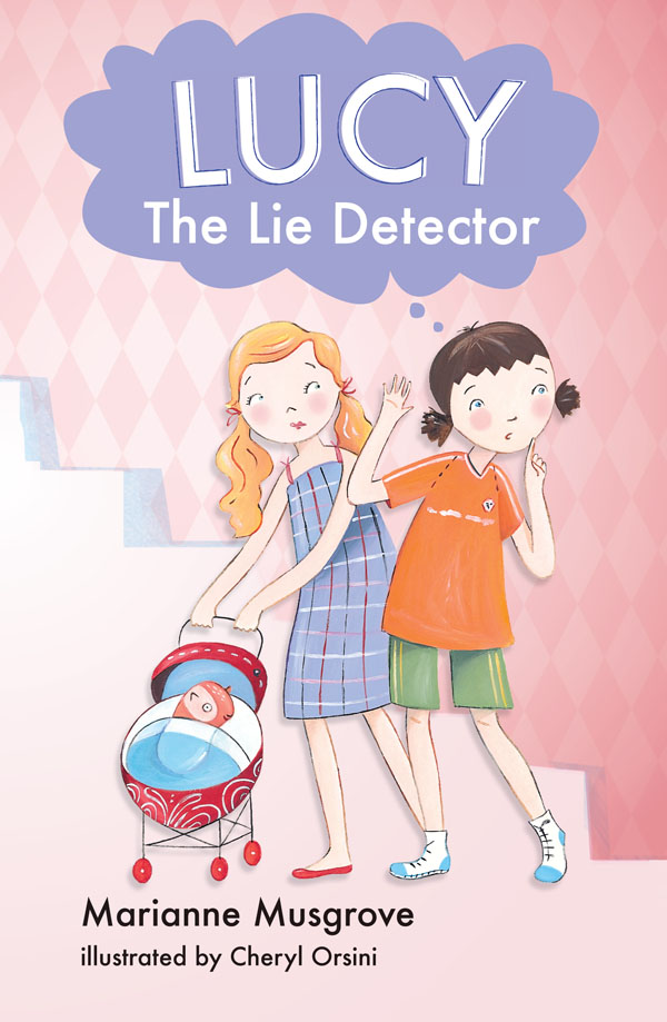 Kids Book Review Review Lucy The Lie Detector border=