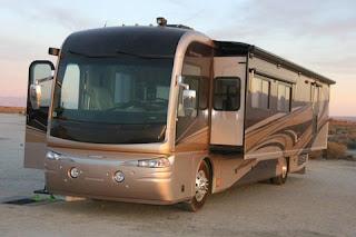 2011 NASCAR Luxury RV Rental