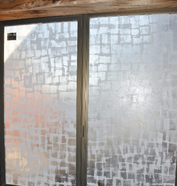 Frosted Glass Look Diy