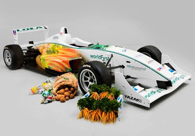 Vegetable Made Chocolate Fueled Racecar Does 125mph