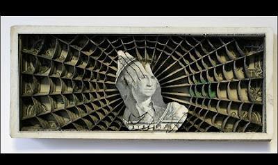 Laser-Etched Dollar Bills: Money Is Art