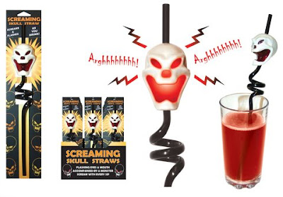 Screaming Skull Straw Will Not Leave You In Peace