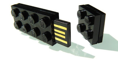 LEGO Flash Drives For Building On Your Data