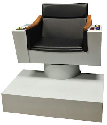 Star Trek Mode – Captain Kirk's Chair