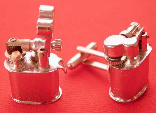 Vintage Lighter Cufflinks Let You Light-up In Style