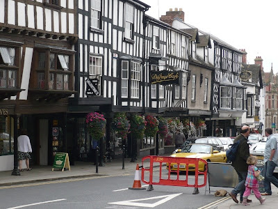 Ludlow parade of shops