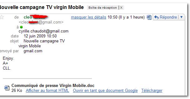 ouvrir un boit gmail