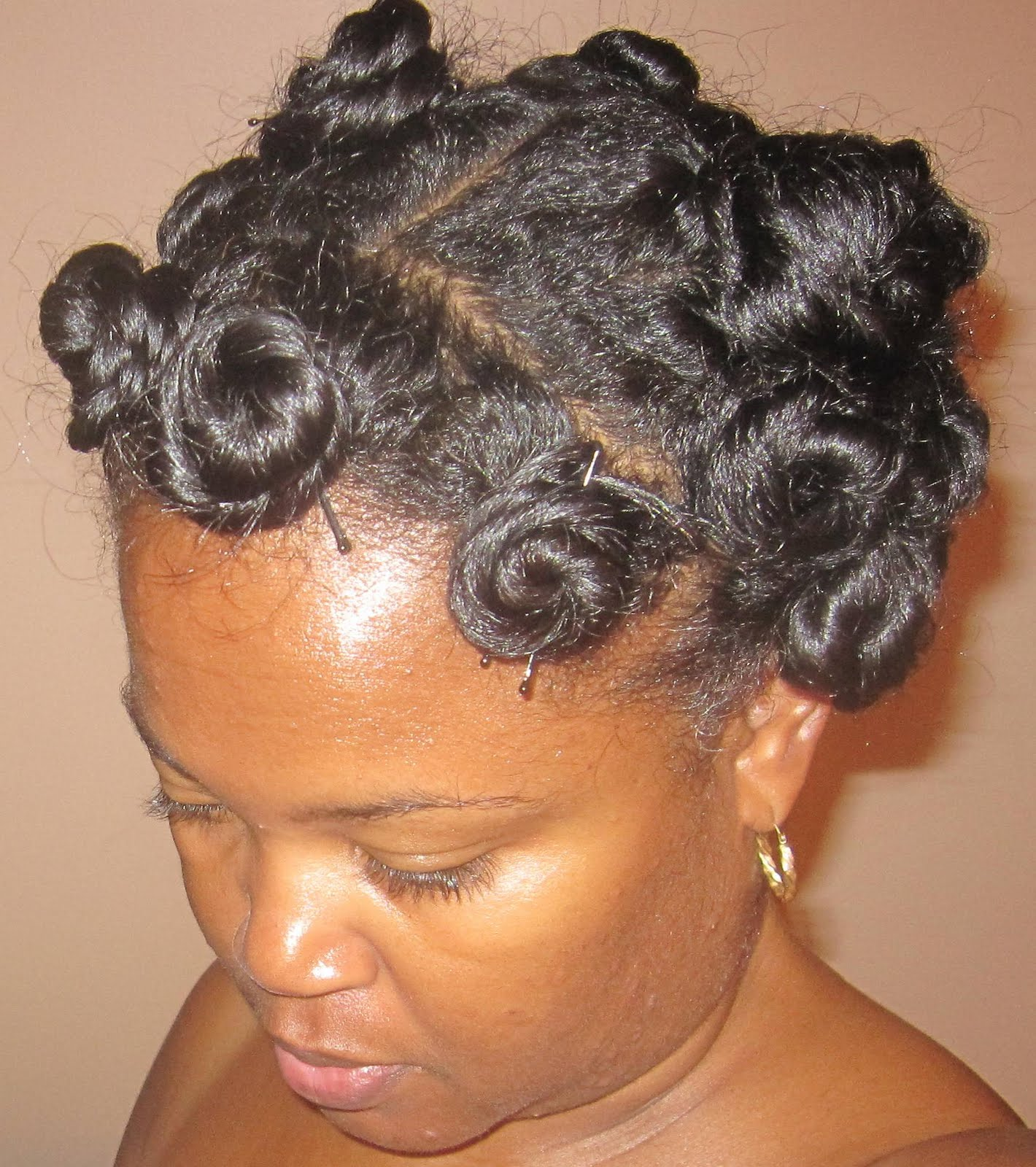 Achieving The Perfect Bantu KnotOut