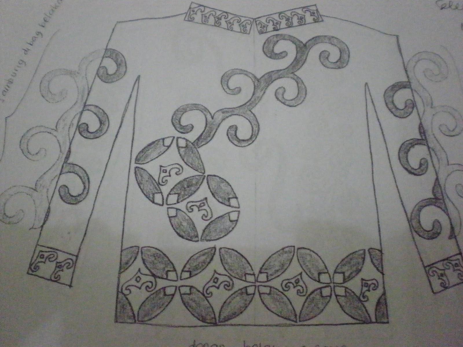 Desain Batik Tulis