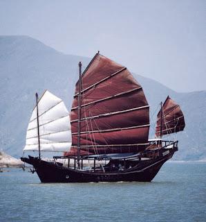 Antiguo Barco Chino