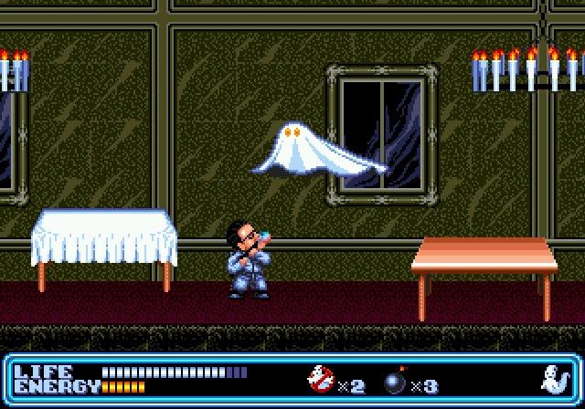 Sega Scrutiny Genesis Game Reviews Ghostbusters