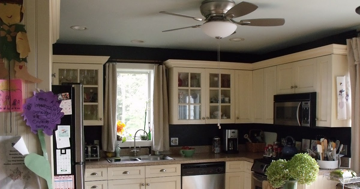 Beige Kitchen Walls With White Cabinets