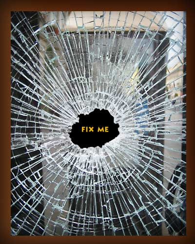 Glass Window How To Fix A Broken Glass Window