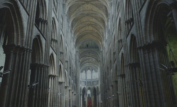 Rouen Cathedral Interior