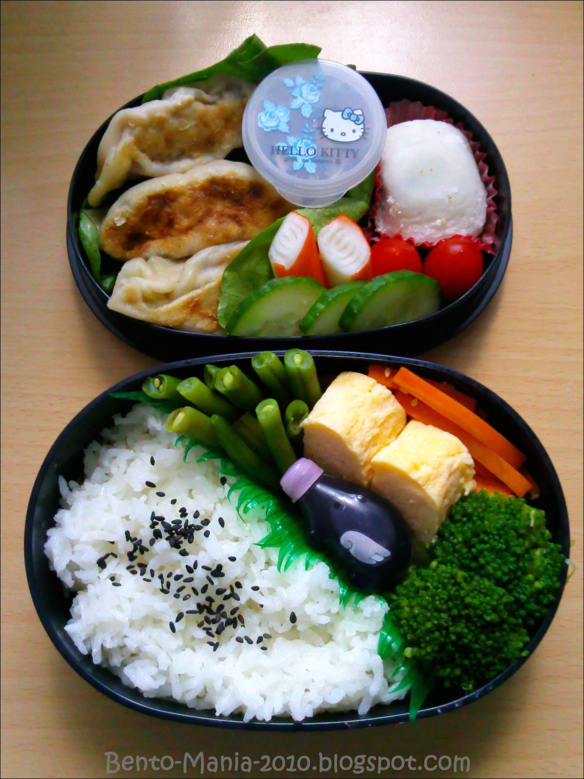 bento mania verr ckt nach der japanischen lunch box bento yaki gyoza bento. Black Bedroom Furniture Sets. Home Design Ideas