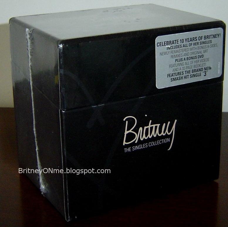 Britney: The Singles Collection - Usa Deluxe Edition - Box Set