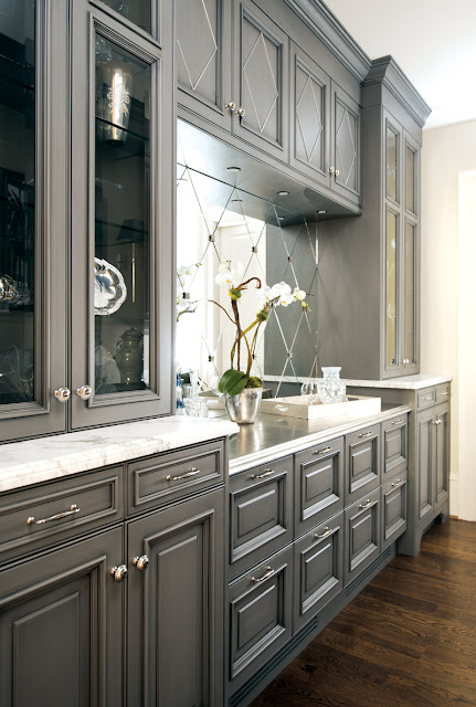 Amazing White Kitchen Cabinets with Grey Walls 431 x 640 · 85 kB · jpeg