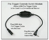 PT1008: Pre-Trigger Override Switch Module - Allows a USB Pre-Trigger Cable to be used in a Conventional Manner