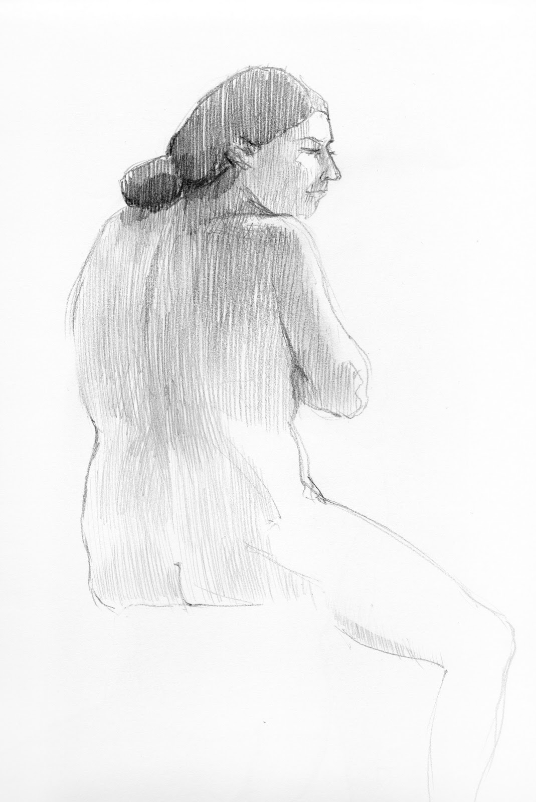 Figure Drawing Sessions (3
