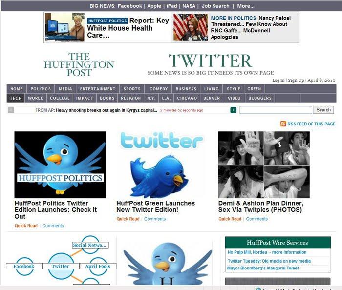 CONTRA A CLICAGEM BURRA: Huffington Post Anuncia Versão No
